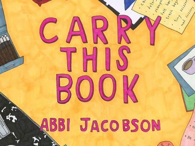 Tutustu Abbi Jacobsonin uusiin kirjaan, joka kuvittelee kuuluisien kantokassien sisältöä
