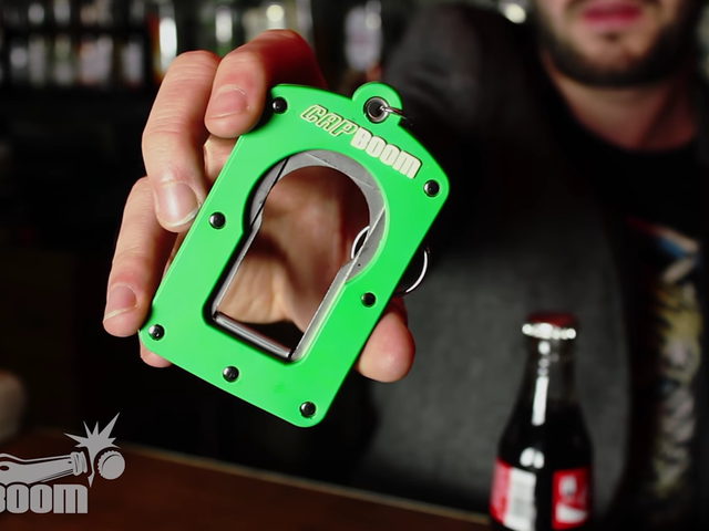 This Bottle Top Launcher Will Probably Injure You Some Day