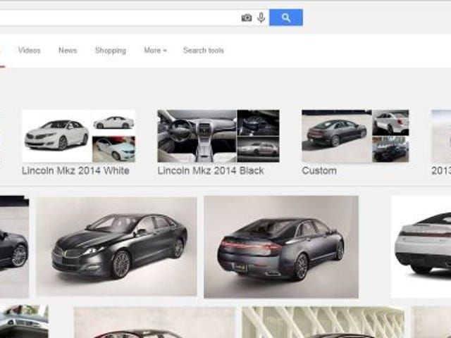 Step 1 for Lincoln: Make Sure Google Knows Your Cars Exist