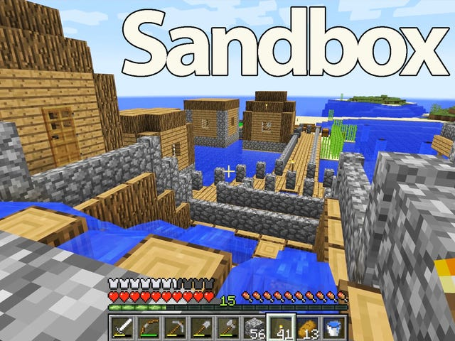 The Importance of Minecraft and Other Sandbox Games