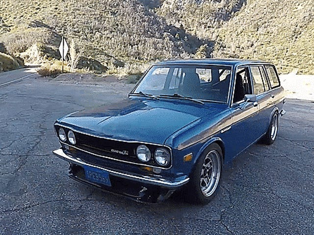 Watching A Datsun 510 Wagon Get Hooned On Canyon Roads Is What Fridays Are For
