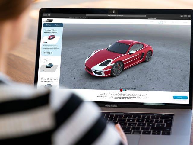 Porsche se está metiendo en el juego Car-Wrap