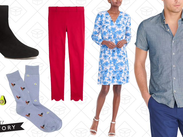 J.Crew Factory's Extra 50% Off Sale is Back