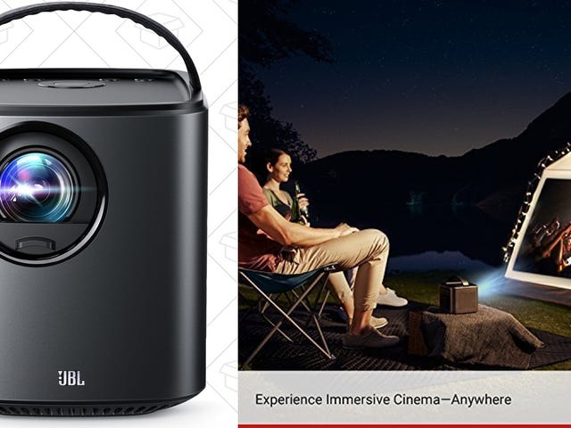 Save $150 On Anker's Versatile, Portable Projector, Today Only