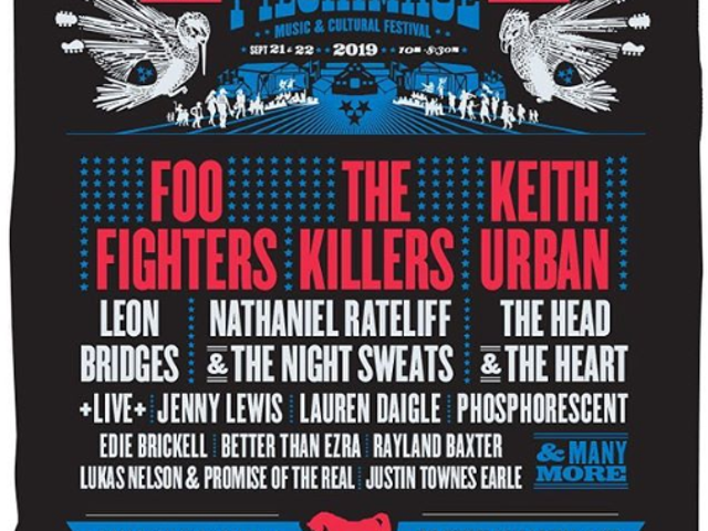 In-laws texted us last night that they're buying the wife and I Pilgrimage Festival tickets for her b-day.