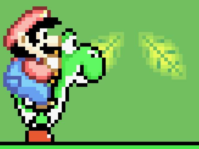 Dikesahkan: Mario mula-mula menumbuk Yoshi