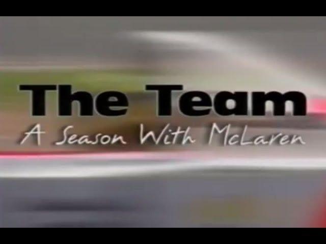 The team: A season with McLaren