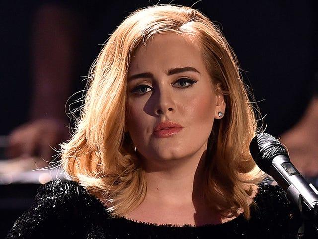 Adele está vindo para você, mesmo que você não tenha enviado para ela
