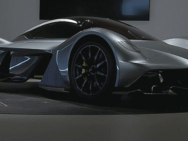 Syv raske fakta om Aston Martin's Bonkers New Hypercar