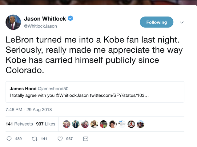 Yeah, This Might Be Jason Whitlock's Worst and Saddest Take Ever