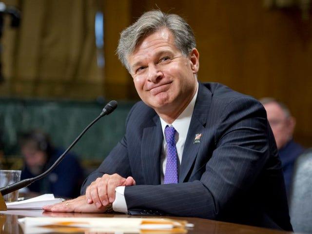 Senate Confirms New FBI Director Christopher Wray