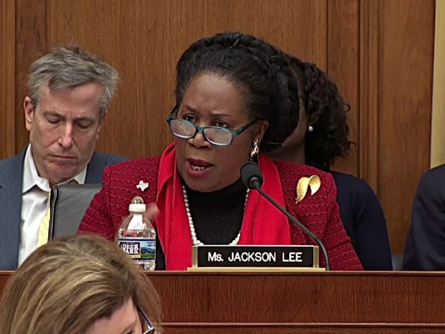 Sheila Jackson Lee Leaves Judiciary Committee After Former Staffer Alleges She Was Fired for Reporting Sexual Assault