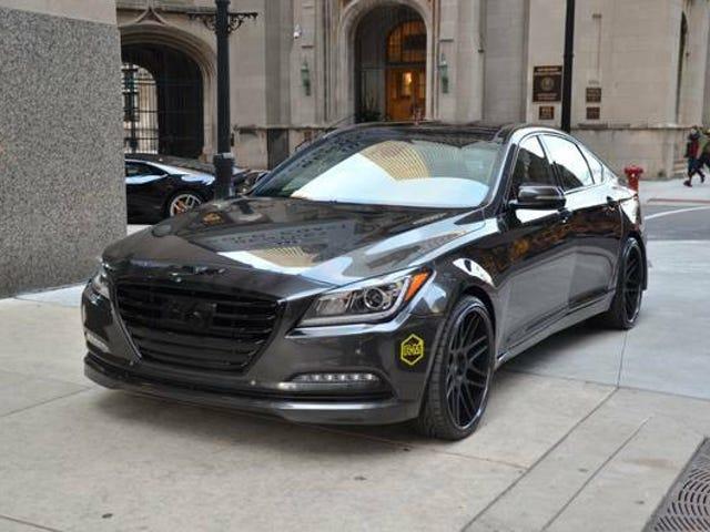 Kuka tahansa M5: n markkinoilla, jossa on Hyundai-merkki?