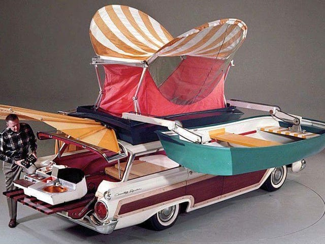 The 1959 Ford Country Squire Camper Is Perfect For All Your Summer Road Trip Needs