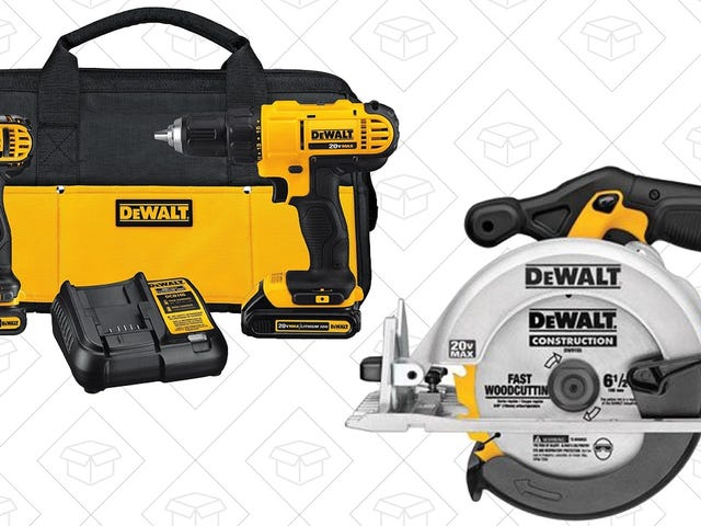 Gear Up For Your Next Home Improvement Project With This One-Day Amazon Deal