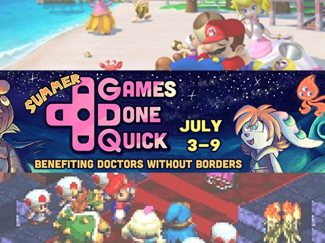 Keep Watching The Week-Long Summer Games Done Quick Charity Speedrun Marathon