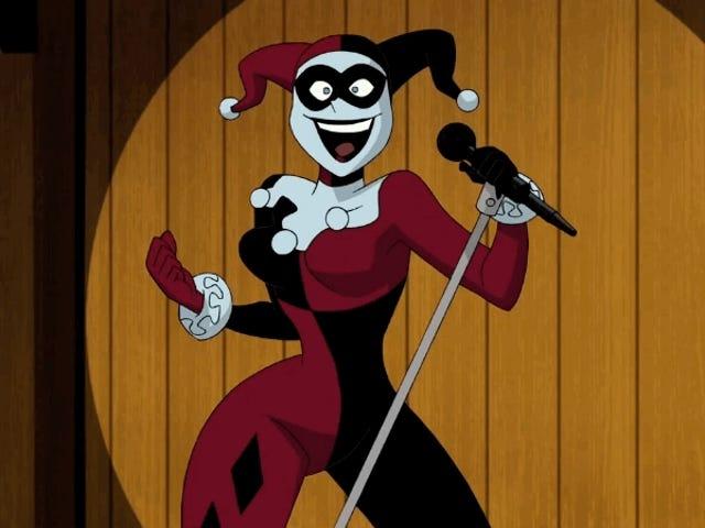 <i>Batman and Harley Quinn</i> 이 사랑하는 안티 빌란 (Antivillain)에게 큰 가운데 손가락을 제공합니다.
