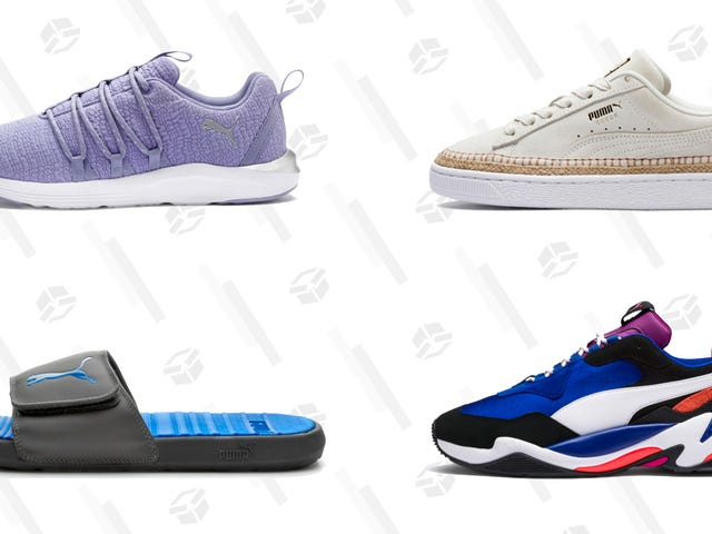 Snag New Sneakers From PUMA With an Extra 40% Off Select Styles