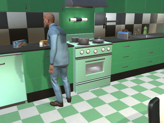 Researchers Are Training a Robot Butler to Do the Chores You Hate in a Sims-Inspired Virtual House
