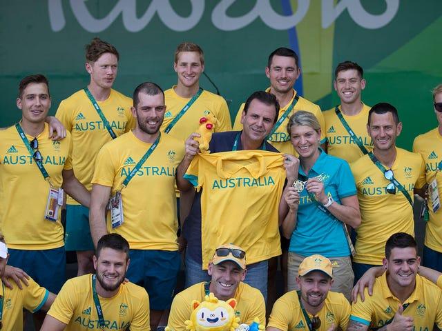 Australiens olympiska delegation rånade under eld på idrottsbyrån