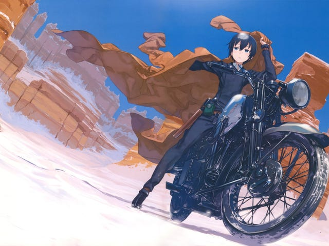 A Superior Bird: Hermes, the Motorcycle of Kino's Journey