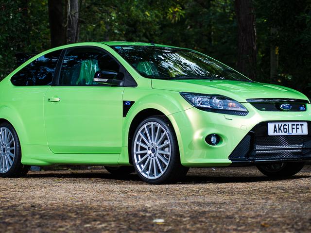 この2011年のフォードフォーカスRSはオークションで新しいものより多くを行くと予想されます