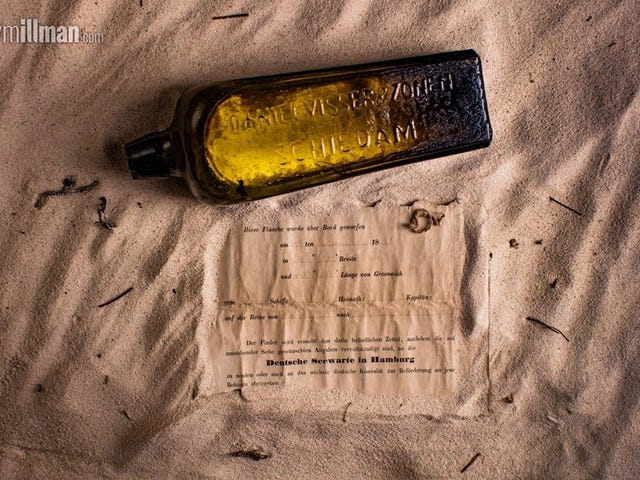 Рекордное 131-летнее сообщение в бутылке, найденное на австралийском пляже