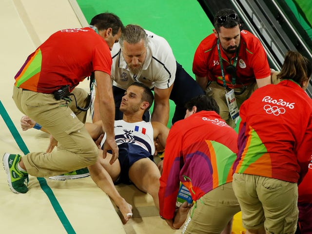 French Gymnast Who Suffered Horrific Leg Break In Rio Is Making His Comeback