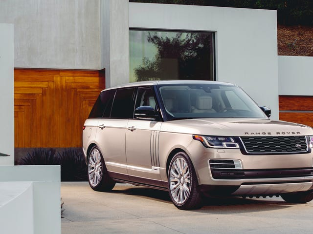 Η 2018 Range Rover SVAutobiography είναι $ 207.900 Pool House On Wheels