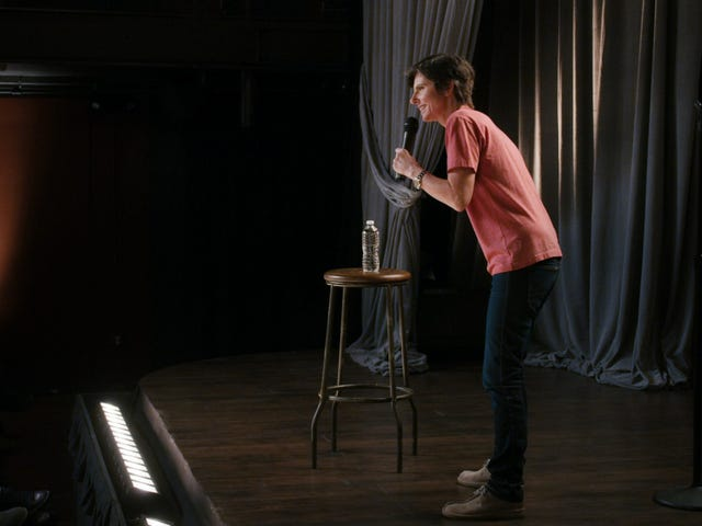 Tig Notaro does a victory lap in the exultant Happy To Be Here
