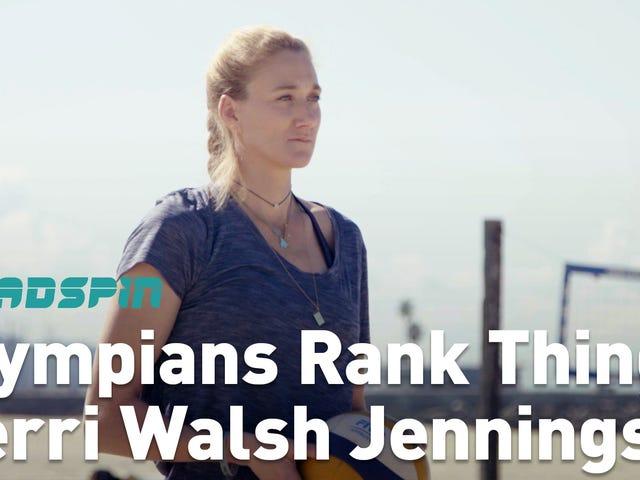 Керрі Уолш Дженнінгс ряди олімпійців як перспективи волейболу