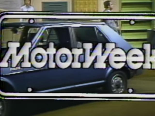 Laat alles vallen en bekijk de eerste aflevering ooit van <i>MotorWeek</i>