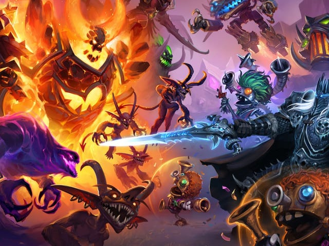 Hearthstone's New Battlegrounds Mode Isn't Meant To Be Competitive, Designers Say