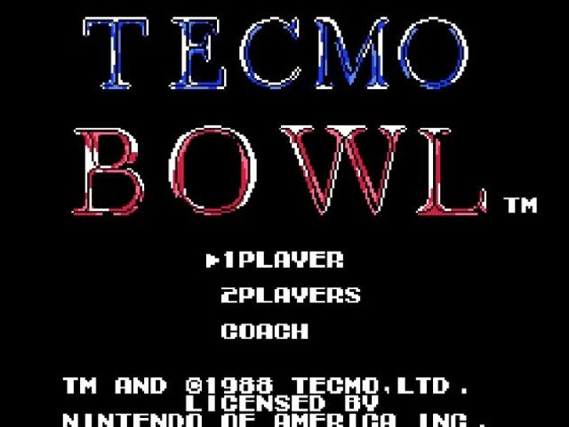 In A Shocking Video Game Twist, Classic Tecmo Bowl Isn't All About Bo