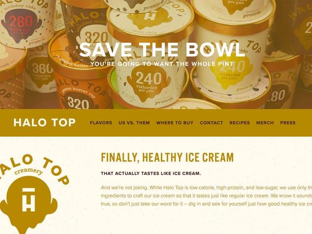 Ay Halo Top Ice Cream Magandang?  Ang Halo Top Ice Cream Kahit Ice Cream?