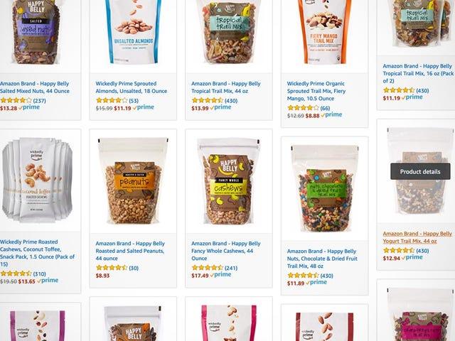 Prueba los snacks de Amazon aprovechando estos descuentos