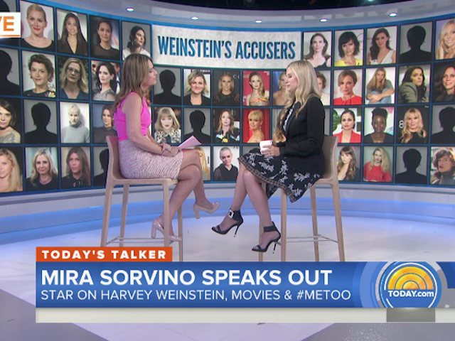 Mira Sorvino on Braving Harassment: 'I Didn't Think I Was Important Enough to Make a Big Deal Over'
