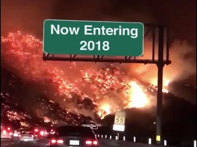 नए साल की पूर्व संध्या शाम को खुला धागा