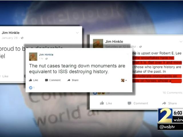 """Ga. Juiz Suspenso Depois de comparar """"Os Casos de Nozes Derrubando"""" Monumentos Confederados para 'ISIS'"""