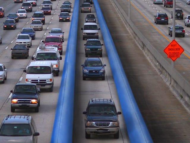 Department Of Transportation presenta una corsia a paraurti imbottita per guidatori intossicati