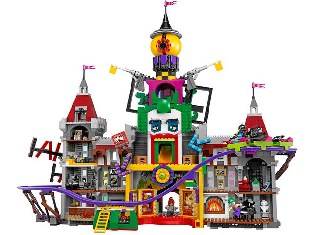 Lego's New Joker Manor Set inkluderer en arbeidsruller
