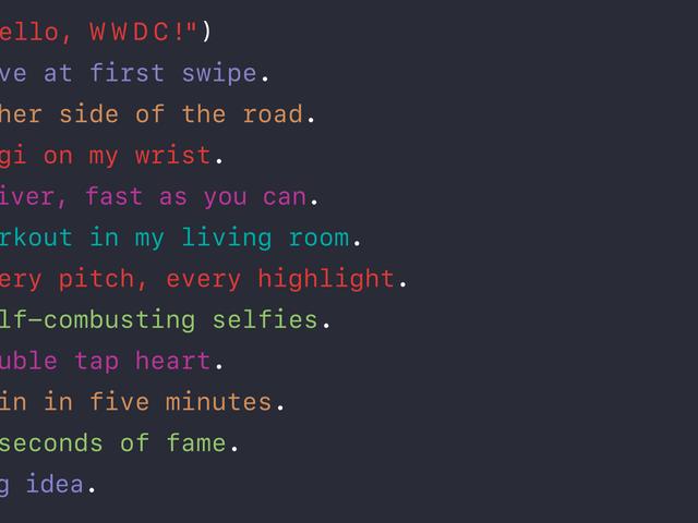 Sì, il WWDC di Apple 2016 inizierà definitivamente il 13 giugno