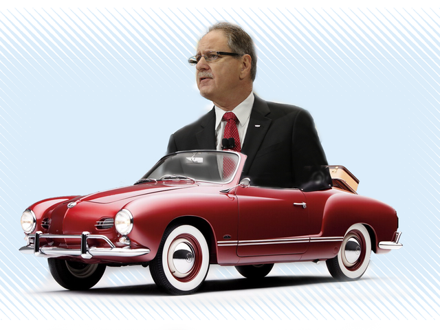 Entinen Cadillac Boss Johan de Nysschen nyt (takaisin) Volkswagenissa
