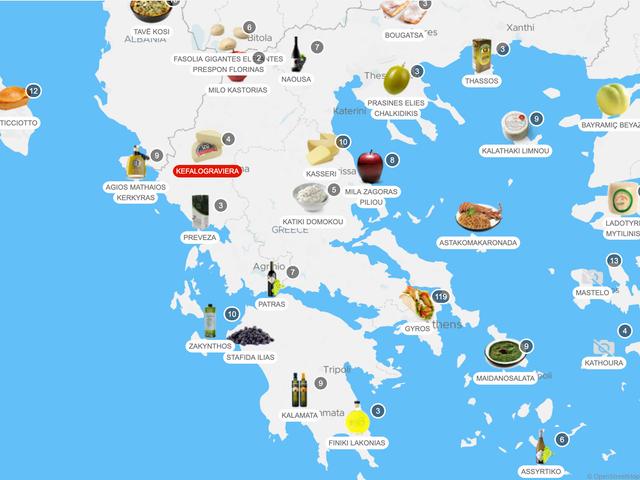 Finden und essen Sie mit TasteAtlas das beste lokale Essen der Welt