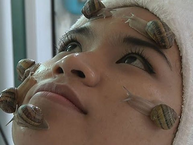Who's Getting a Snail Facial This Weekend?