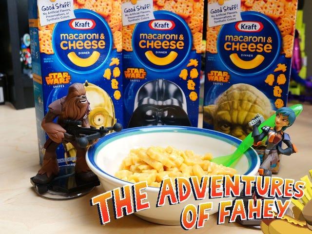 Snacktaku sent la grande peur dans le macaroni au fromage Star Wars Kraft