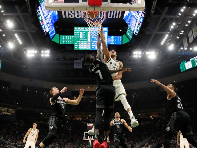 Giannis Shamed Former Buck Thon Maker Into Submission, Twice