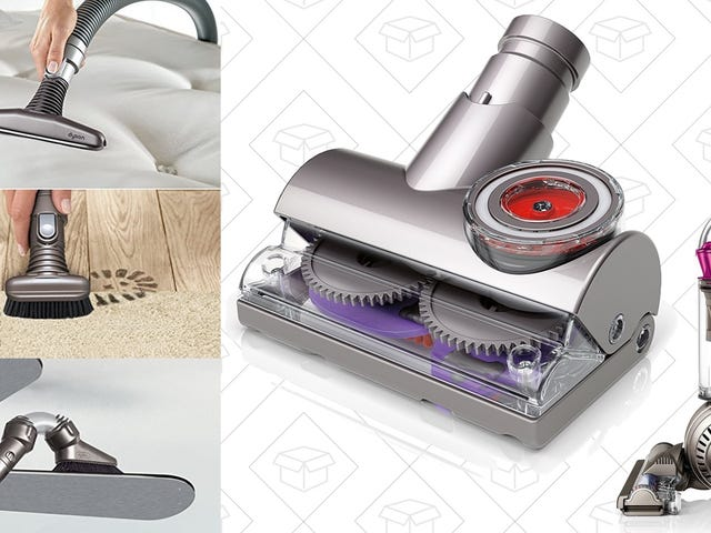 This One-Day Dyson Deal Includes Seven Hose Tools For Every Cleaning Situation