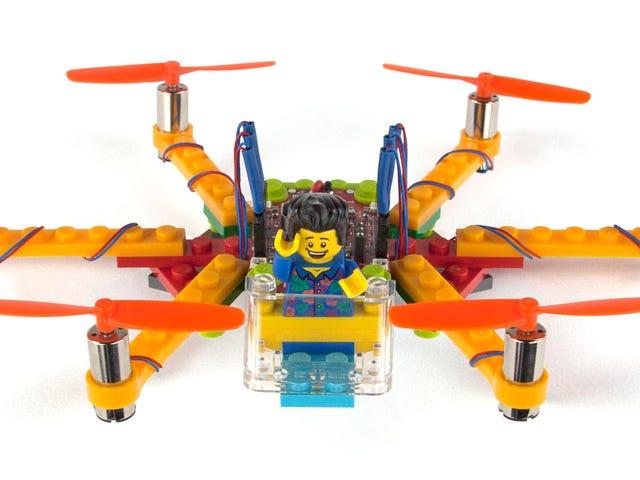 Met deze eenvoudige kits kun je vliegende hommels bouwen van Lego