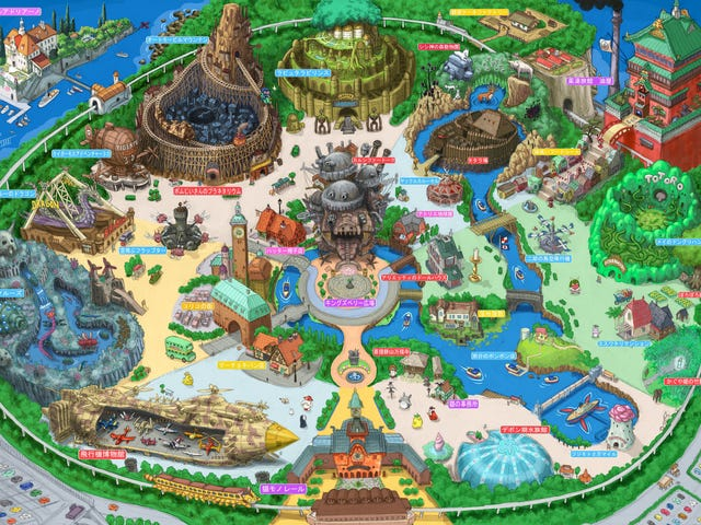 Artist Dreams Up Studio Ghibli Theme Park We Wish Could Be Real
